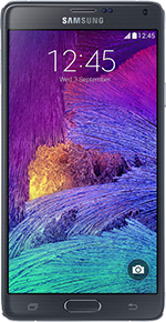 Samsung Galaxy Note 4 Wesatel Webseite
